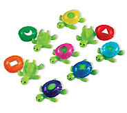 Smart Splash Shape Shell Turtles by Learning Resources - T119245