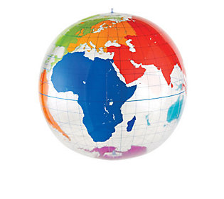 Inflatable Globe by Learning Resources