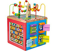 ALEX Jr. My Busy Town Wooden Activity Cube - T128249