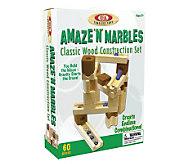 60 Piece Amaze N Marbles Classic Wood Construction Set - T124450