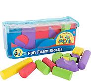 Hey! Play! 50-Piece Non-Toxic EVA Foam BuildingBlocks - T127861