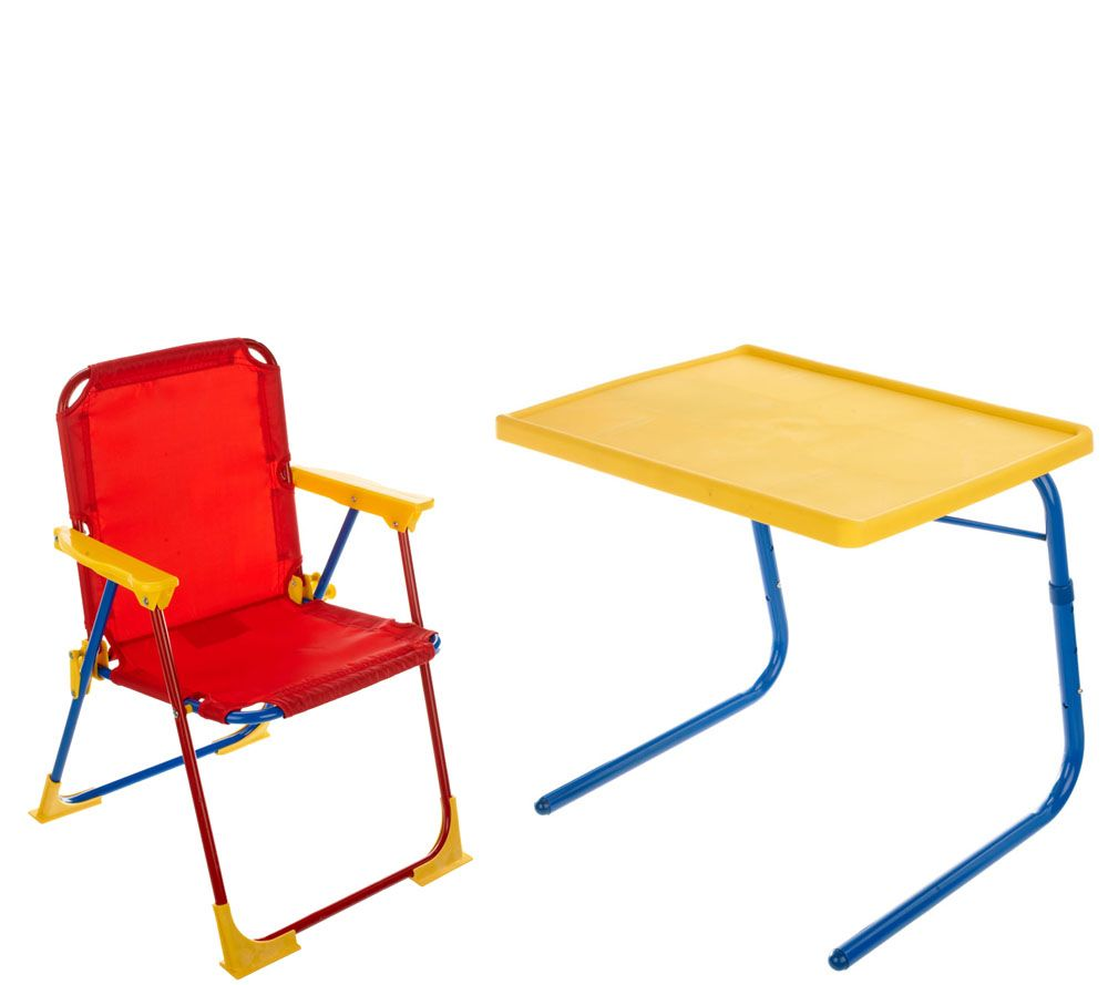 Table Mate Kids Multipurpose Table Set With Chair, Case U0026 Cupholder   Page  1 U2014 QVC.com