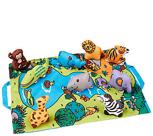 Melissa & Doug Take-Along Wild Safari Play