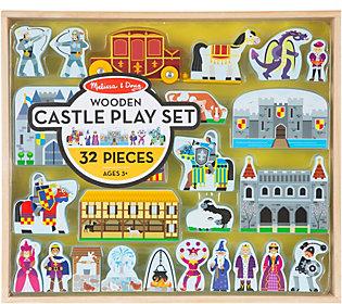 Melissa & Doug Wooden Castle Play Set