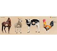 Edushape Farm Animal Giant Puzzle - T128967