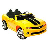 12V Chevrolet Camaro Ride-On - T127169