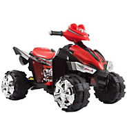 Lil Rider Battery-Powered Ride-On Quad in Black & Red - T128669