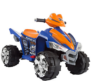 Lil' Rider Battery-Operated Ride-On Quad in Blue