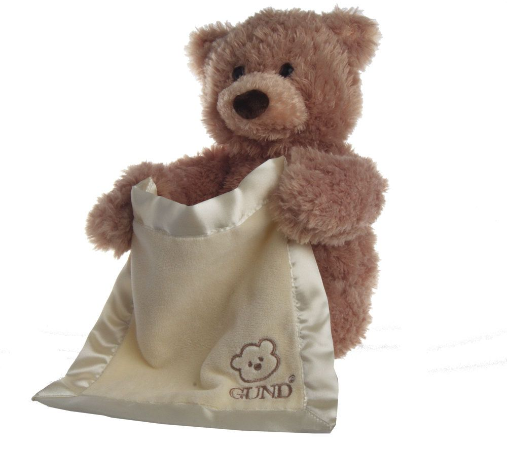 a1f696cfdeb Peek-a-Boo Bear Interactive Huggable Plush by Gund - Page 1 — QVC.com