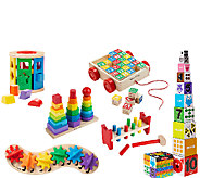 Melissa & Doug Lets Play Classic Toys Bundle - T127373
