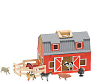 Melissa & Doug Fold and Go Barn - T127573