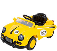 Lil Rider 58 Yellow Speedy Sportster BatteryOp Car w/Remote - T127679