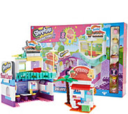 Shopkins Kinstructions Deluxe Food Court Set With 334 Pieces - T35080