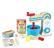Melissa & Doug Wooden Make-a-Cake Mixer Set - T127781