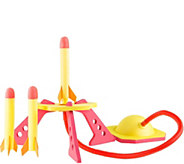 Jump Rocket Launcher with 3 Foam Rockets by Hey! Play! - T127881