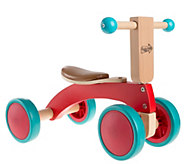 Happy Trails Walk and Ride Wooden Balance Bikefor Toddlers - T129081