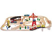 Melissa & Doug Wooden Railway Set - T127183