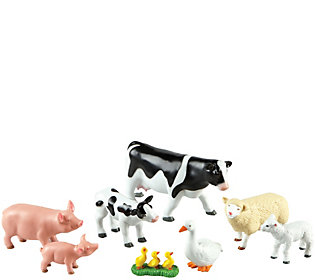 Learning Resources Jumbo Farm Animals, Mommas and