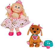 Cabbage Patch Kids 35th Anniversary 14 Doll with Adoptimals Pet - T35183
