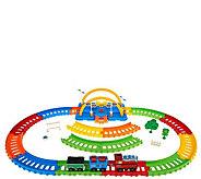 Neo Tracks 40-Piece Train Set with Flexible Train Track - T128587