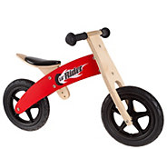 Lil Rider Wooden Balance Bike Ride-On with Easy Grip Handles - T129087