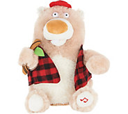 Cuddle Barn 11.5 Animated Woodchuck Chuck Plush - T35588