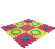 Hey! Play! Giant Interlocking Foam Square Tic-Tac-Toe Game - T129089