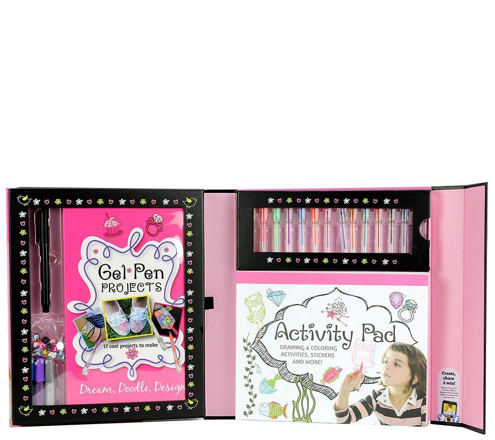 a59e439ef Spicebox Kits for Kids - Gel Pen Kit — QVC.com