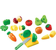 Pretend & Play Sliceable Fruits/Veggies by Learning Resources - T123395