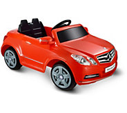 Mercedes Benz E550 1 Seater - Red 6V Ride-On Vehicle - T125895