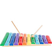 Hey! Play! Classic 12-Note Wooden Xylophone Musical Toy - T127897