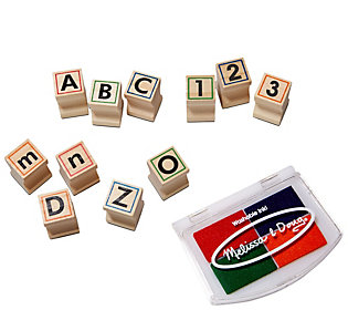 Melissa & Doug Wooden ABC Activity Stamp