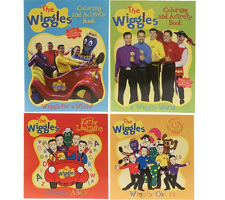 The Wiggles Giant Coloring And Activity Book