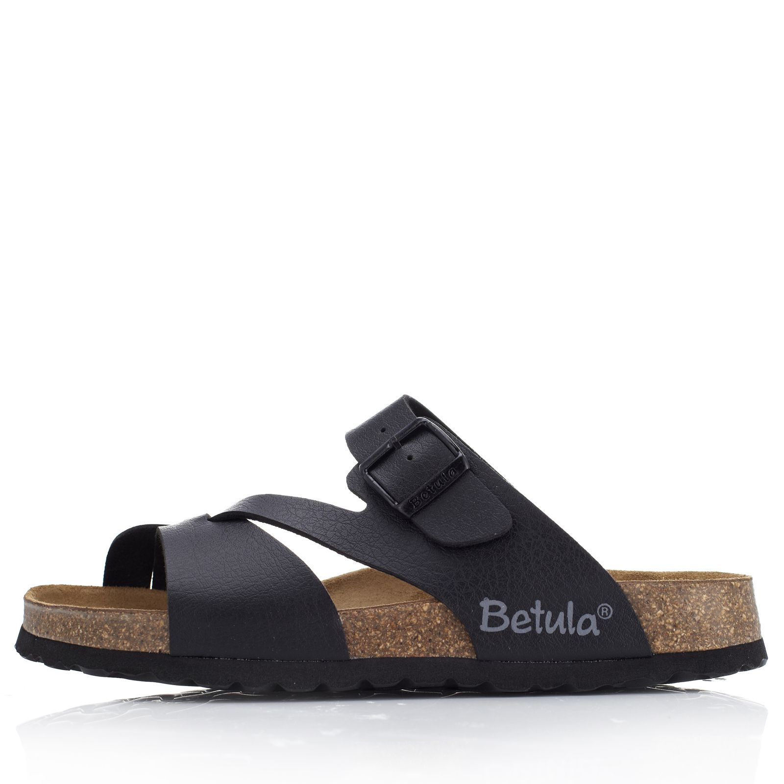 91b130d0813cf Betula by Birkenstock Carna Crackle Effect Sandal - Page 1 - QVC UK