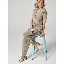 159200 - Kim & Co Brazil Jersey Short Sleeve Jumpsuit