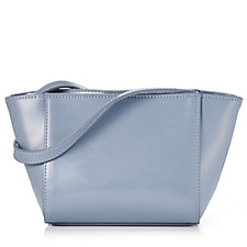 Lulu Guinness Pixie Lip Print Leather Handbag