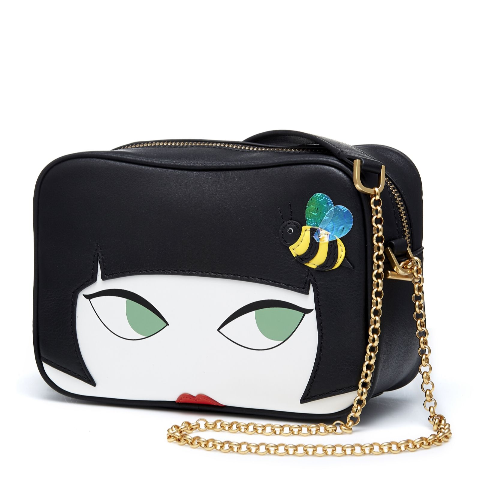 e00071175d52 Lulu Guinness Amber Crossbody Bag - QVC UK