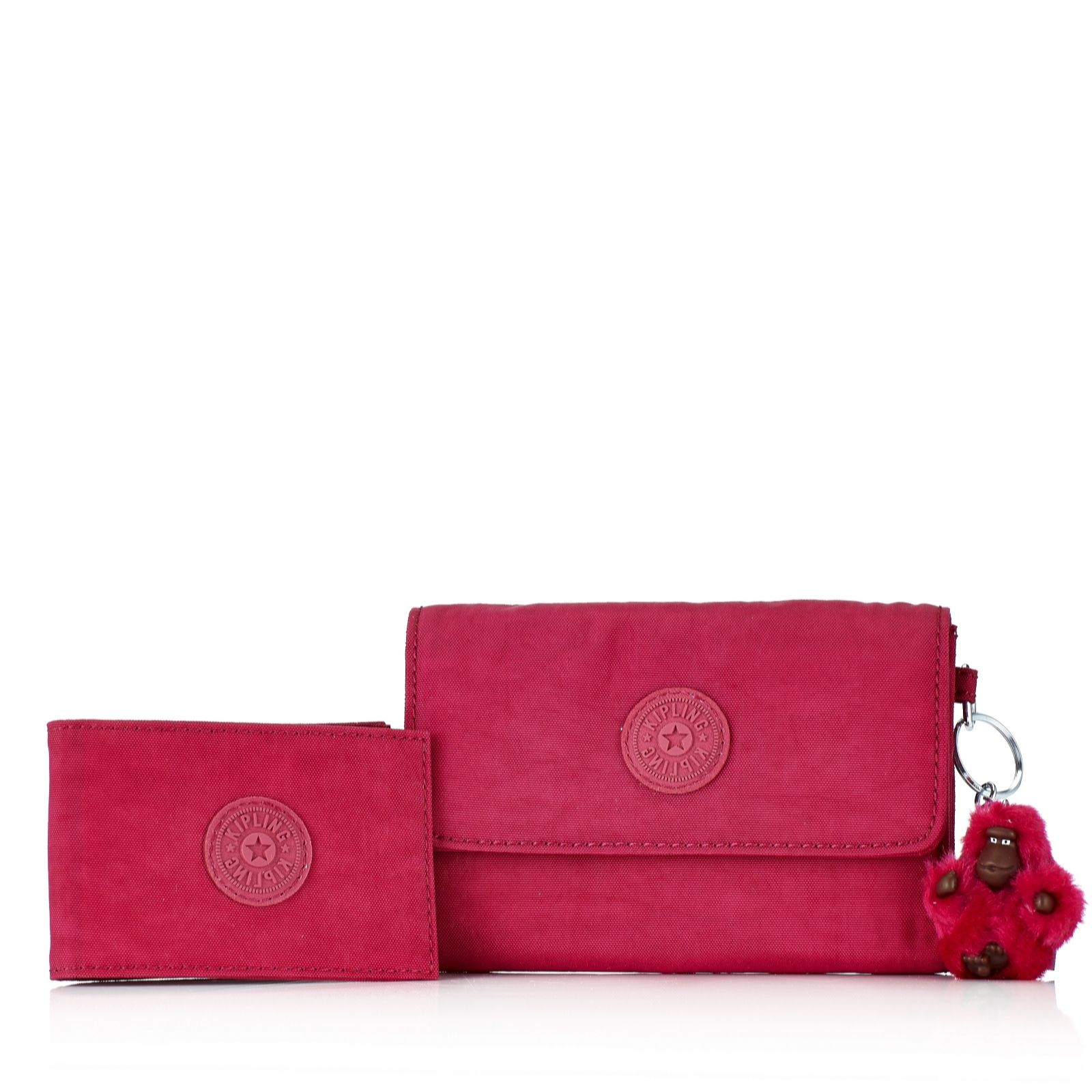 kipling new pixi purse  card holder set  page 1  qvc uk