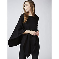 Marble Asymmetric Cape with Stud Detail