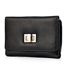 Amanda Lamb Foldover Wallet With Buckle