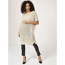 Join Clothes Knitted Longline Tunic