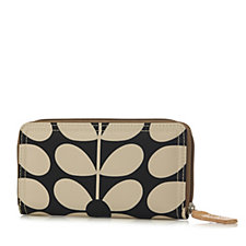 Orla Kiely Sixties Stem Nylon Big Wallet