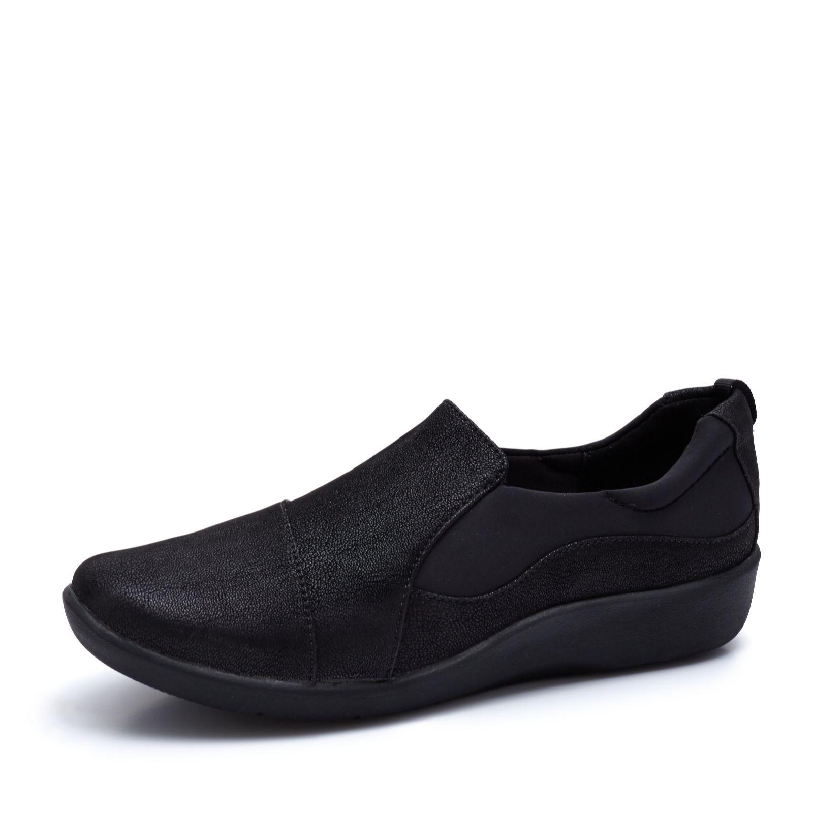 65b30674a85b8 Clarks Cloudstepper Sillian Paz Slip On Shoe Wide Fit - QVC UK
