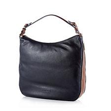 Smith & Canova Althorpe Pebble Leather Hobo Bag