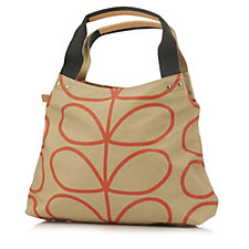 Orla Kiely Giant Linear Stem Classic Zip Shoulder Bag