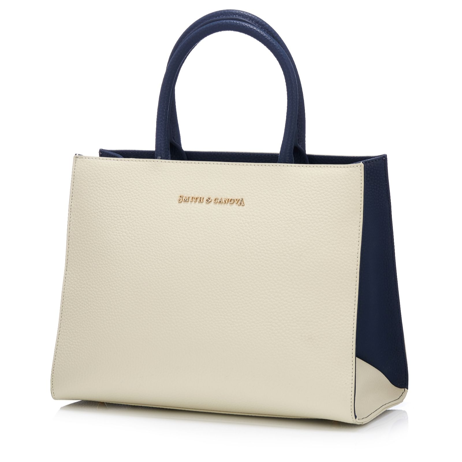 Smith   Canova Sophie Leather Tote Bag with Detachable Strap ... cb3df42acbfab