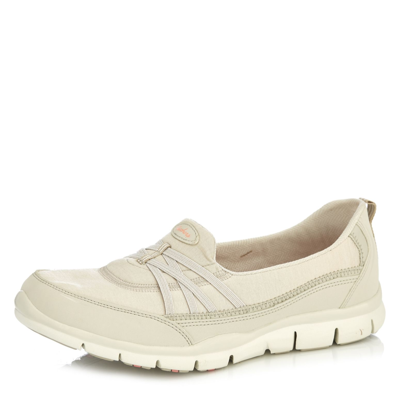 938f2ccab9d9 Skechers Gratis True Heart Heathered Jersey Slip On Trainer with Memory  Foam - QVC UK