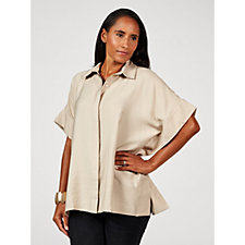 WynneLayers Poncho Blouse
