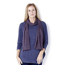 Kim & Co Melange Knit Scarf