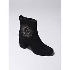 Ravel Penrose Embroidered Ankle Boot